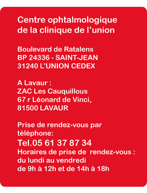 Faqs Centre D Ophtalmologie De La Clinique De L Union Toulouse
